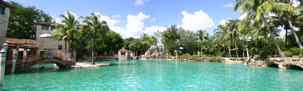 The Venetian Pool in Coral Gables